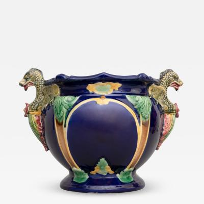 Thomas Forester Sons Thomas Forester Gothic Revival Majolica Pottery Jardiniere