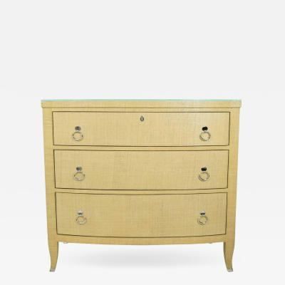 Thomasville Furniture Chest of Drawers in Grasscloth by Thomasville