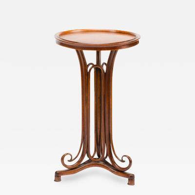 Thonet A bentwood Art Nouveau reading table by Thonet Austria circa 1900