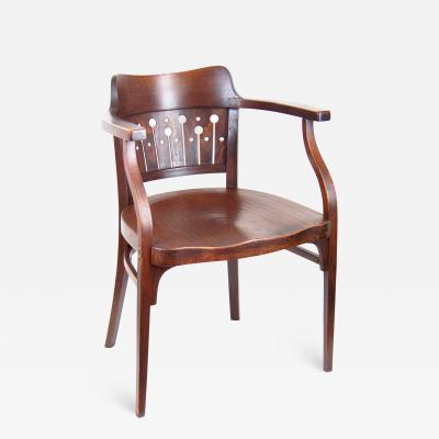 Thonet Armchair Thonet Nr 6142 Otto Wagner in 1905