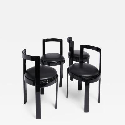 Thonet Barrel Back Chair Set of 4