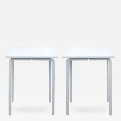 Thonet Pair Thonet Bentwood Side Tables