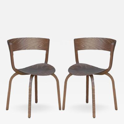 Thonet Pair of 404 F chairs by Stefan Diez for Thonet