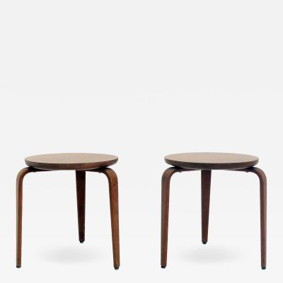 Thonet Pair of Stools by Thonet