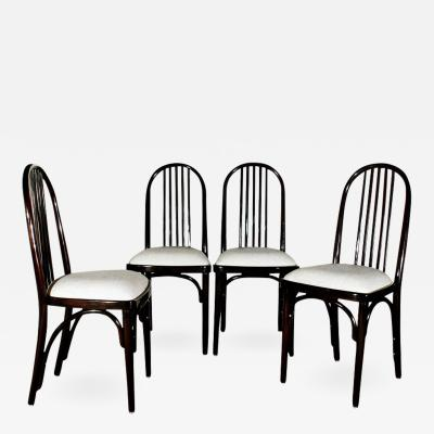 Thonet SET OF EIGHT CHAIRS MODEL 639 BY THONET