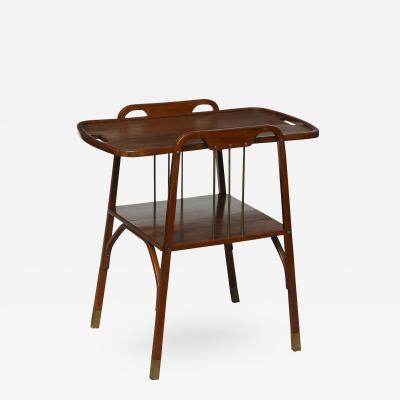 Thonet Secessionist Side Table by Thonet