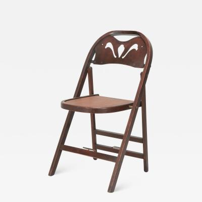Thonet Thonet Art Deco Folding Chair 30s