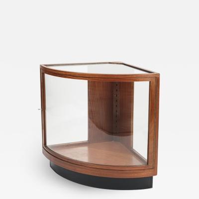 Thonet Thonet corner cabinet 20s mahogany