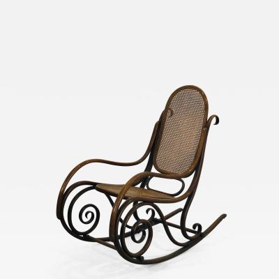 Thonet Thonets Rocking Chair from the early 1900s Model No 1
