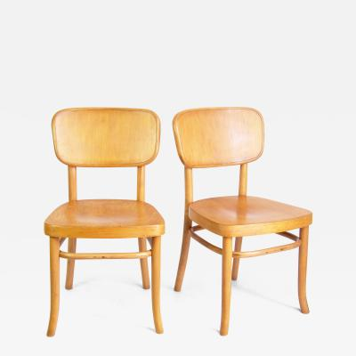 Thonet Two Bauhaus Chairs Thonet A283 by Gustav Adolf Schneck in 1928