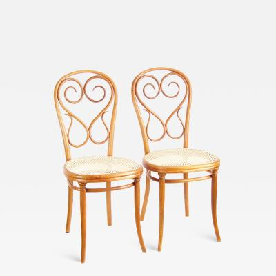 Thonet Two Chairs Thonet Nr 4 circa 1860