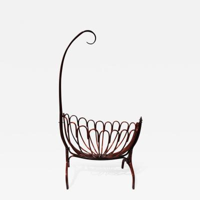 Thonet Viennese Thonet Bentwood Cradle