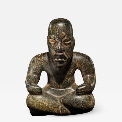 Throckmorton Fine Art Olmec Seated Figure