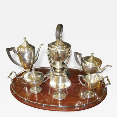 Tiffany Co 1930s 8 Piece Tiffany Co Coffee Tea Set in Hamilton Pattern