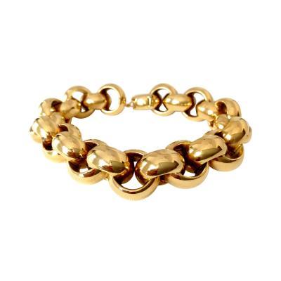 Tiffany Co Chunky Tiffany Co 18k Link Bracelet