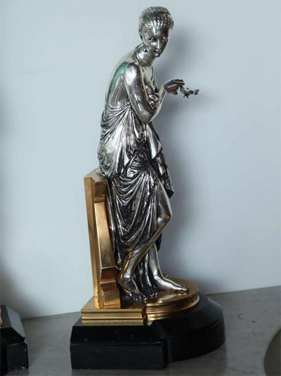 Tiffany Co Important Pair of Tiffany and Co Figures by Peiffer