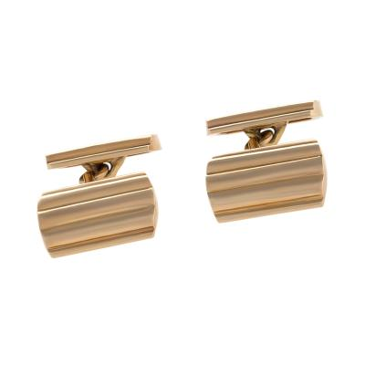 Tiffany Co Mid Century Gold Cuff Links