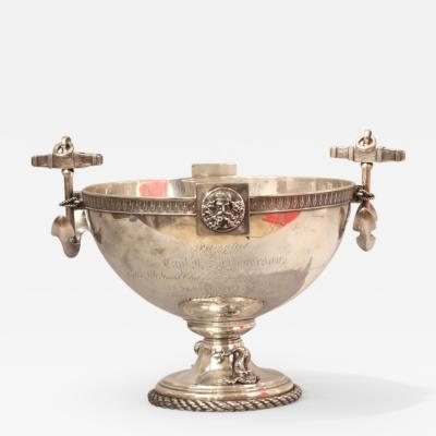 Tiffany Co NYYC Tiffany Silver Americas Cup Presentation Bowl given to Captain Dickerson