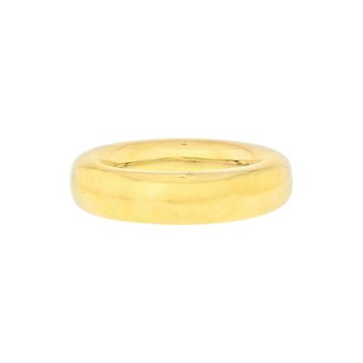 Tiffany Co TIFFANY CO 18K YELLOW GOLD DOUGHNUT BANGLE BRACELET