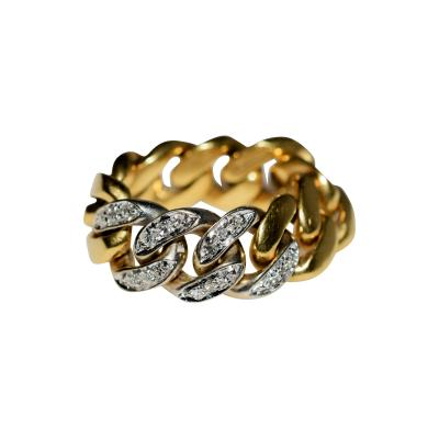 Tiffany Co Tiffany Chain Ring