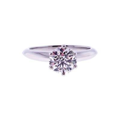 Tiffany Co Tiffany Co 1 28 Carat Diamond Engagement Ring