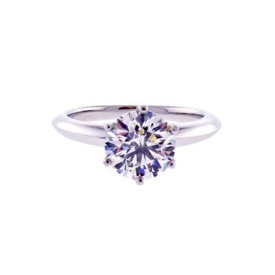 Tiffany Co Tiffany Co 1 75 Carat Diamond Engagement Ring