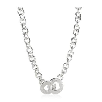 Tiffany Co Tiffany Co 1837 Clasp Necklace in Sterling Silver