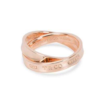 Tiffany Co Tiffany Co 1837 Rubedo Interlocking Circles Ring in 8K Rose Gold