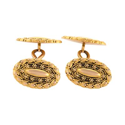 Tiffany Co Tiffany Co Antique Gold Cuff Links