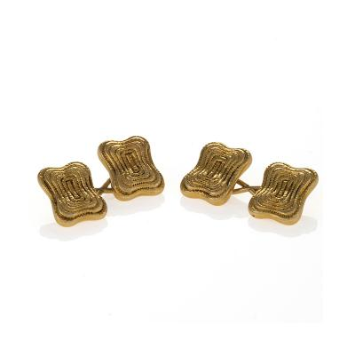 Tiffany Co Tiffany Co Art Nouveau Gold Cuff Links