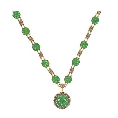 Tiffany Co Tiffany Co Art Nouveau Jade Sautoir Necklace Bracelet