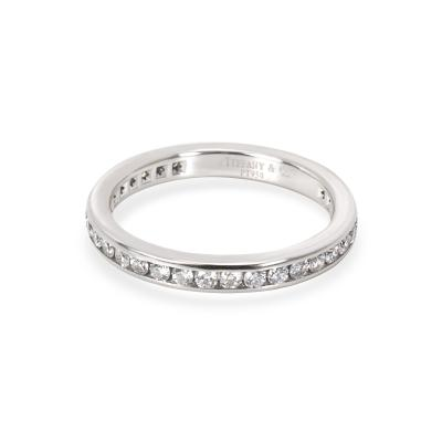 Tiffany Co Tiffany Co Channel Diamond Wedding Band in Platinum 0 40 CTW