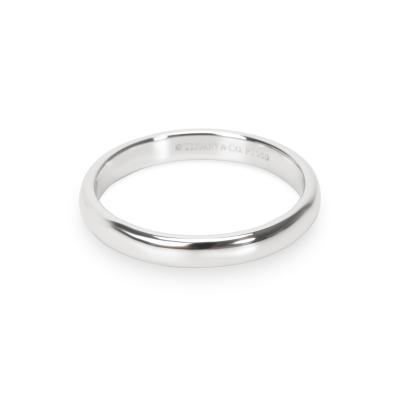 Tiffany Co Tiffany Co Classic Collection 3mm Wedding Band in Platinum
