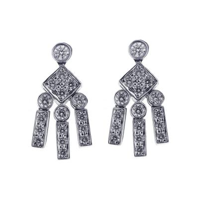 Tiffany Co Tiffany Co Diamond Dangle Earrings