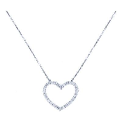 Tiffany Co Tiffany Co Diamond Heart Pendant