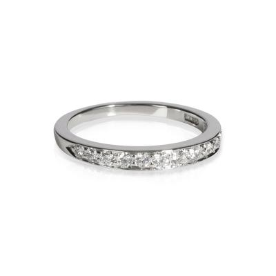 Tiffany Co Tiffany Co Diamond Wedding Band in Platinum 0 33 CTW