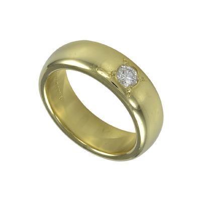 Tiffany Co Tiffany Co Gold Band with Diamond