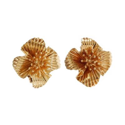 Tiffany Co Tiffany Co Gold Clip Post Earrings