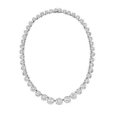 Tiffany Co Tiffany Co Important Diamond Riviere Necklace