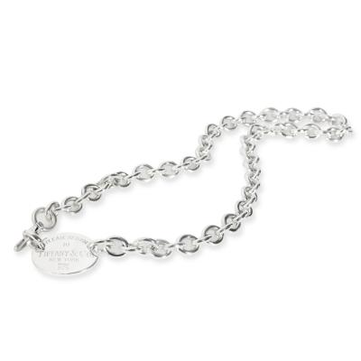 Tiffany Co Tiffany Co Return to Tiffany Oval Link Necklace in Sterling Silver