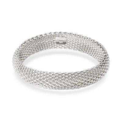 Tiffany Co Tiffany Co Somerset Mesh Sterling Silver Bracelet