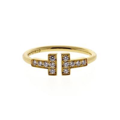 Tiffany Co Tiffany Co T Wire Diamond Ring