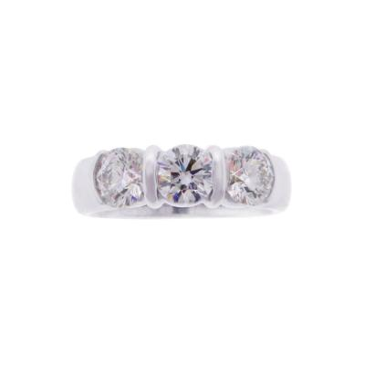Tiffany Co Tiffany Co Three Stone Diamond Ring
