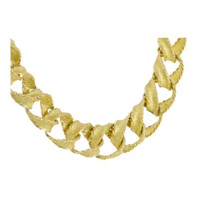 Tiffany Co Tiffany Co brush gold necklace
