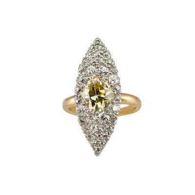 Tiffany Co Tiffany Fancy Yellow Diamond Ring