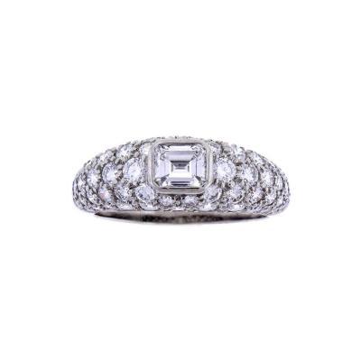 Tiffany Co Tiffany Pave Diamond Ring