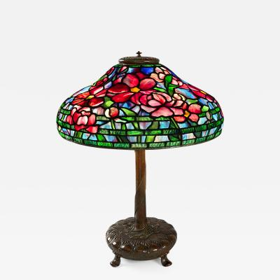 Tiffany and Co Peony Tiffany Lamp