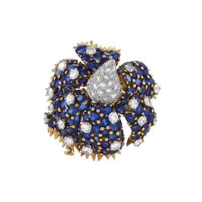 Tiffany and Co Sombrero Brooch by Schlumberger