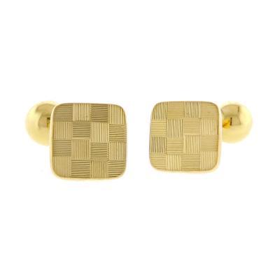 Tiffany and Co Tiffany Co 18 Karat Gold Cufflinks