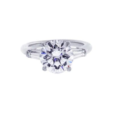 Tiffany and Co Tiffany Co 2 27 Carat Diamond Solitaire Engagement Ring